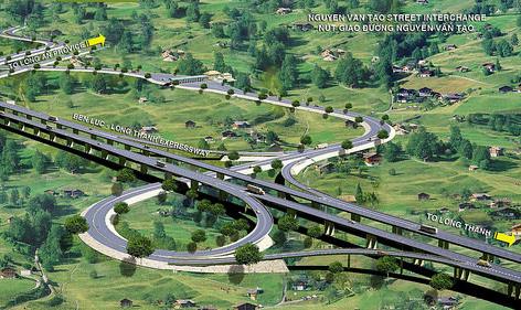 Cao tốc Bến Lức Long Thành gói A4 - TP HCM